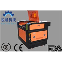 80W CO2 laser cutting engraving machine RF--6090-co2-80W with auto focus device