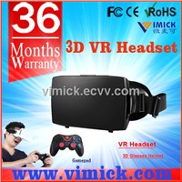 virtual reality headset for cellphone enjoy 3D movies games VMK-G002
