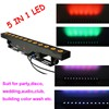 12X15W RGBAW 5 in 1 led wall washer,indoor led wash bar,building color wash