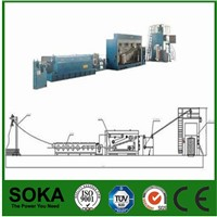 A Column of Type Copper Wire Rod Drawing Machine with Annealing Machine