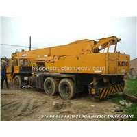 Used Japan KATO Crane NK250E,Used KATO 25 tons Truck crane for sale, good price