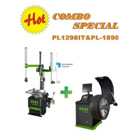 our popular combo tyre changer+wheel balancer