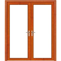 96 European style alumnium alloy swing door with double jambs