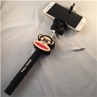 monopod Handheld Self-portrait for smartphone with Clip