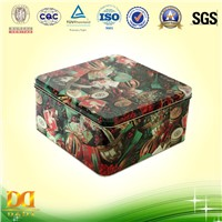Classic Square Gift Tin Box