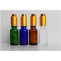 Glass Amber Essential Oil Bottle