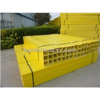 Pultrusion square tube with good appearance, high anti-slippery