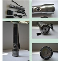 model HFY-016 aluminium alloy solar-powered flashlight