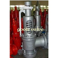 Spring loaded full lift safety valve,cast steel,stainless steel