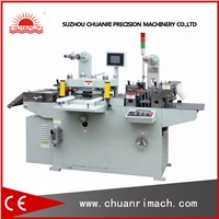 Kiss Cut And Through Cut Flatbed Roll Automatic Die Cutter Machine