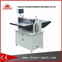 Paper Foil PVC Label And Foam Electric Auto Sheet Cutter Machine