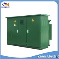 American box distribution electrical transformer substation