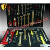 Non sparking Combination Tools Set For Oil Depot.