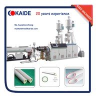 Extrusion machine for PPR Glass-fiber composite pipe KAIDE factory