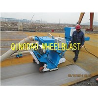 Wheelblast   Movable Concrete/ Asphalt /Steel Type Cleaning Machine /Floor Shot Blasting Machine