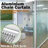 Decorative Aluminum Hanging Chain Fly Screen / Aluminum Chain Curtain