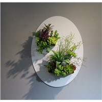Indoor Eco-friendly Artificial Plants Wall Hanging