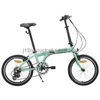 Cool Folding Bike with alloy frame