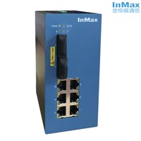 8 Ports PoE Managed Industrial Ethernet Switch for IP Camera P608A