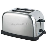 850W 2 Slice Stainless Steel Toaster(Model No.:ST-0201)