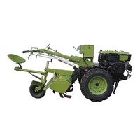 16HP Multi-Function Diesel Engine Walking Tractor