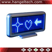 16x48 Desktop Programmable LED Moving Display Scrolling Message Display