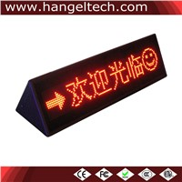 16x96 Desktop Programmable Double-Sided LED Moving Display Scrolling Display