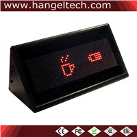 16x48 Desktop Programmable Double-Sided LED Moving Display Scrolling Display