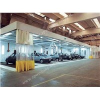 Auto repair dust-free sanding room