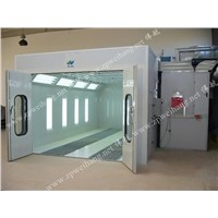 Car clean paint spray booth