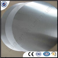 Deep drawing non-stick/ Induction/Mill Finish aluminum circle discs for cookware Lanren manufacturer