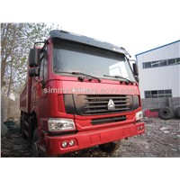Used condition howo 4*2 dump truck second hand howo 4*2 25t dump truck for sale