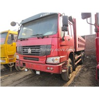 Used condition Howo 2*4 dump truck 25t dump truck year 2011 second hand howo 2*4 dump truck sale
