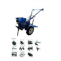 Mini Walking /Hand Tractor with Rotary Tiller/ with Plough