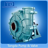 Mining Usage Anti-Corrosion Rubber Lined 28% High Chrome Centrifugal Slurry Pump