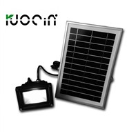 Solar Powered Bright Outdoor Garden Flood Light Lawn Lamp