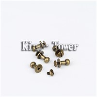 low price alloy steel chicago screw for book (with ISO and RoHs certification )