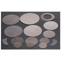 stainless steel wire mesh disc