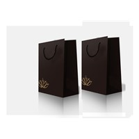 2015 New design paper bag with handles