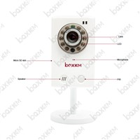HD CCTV network wireless night vision IR smart alarm IP camera