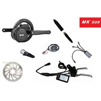 High quality central motor kits with disc brake