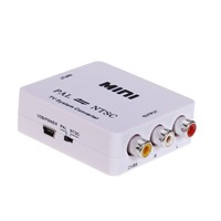 Mini TV System AV PAL to NTSC/NTSC to PAL Converter
