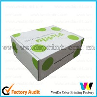 foldable custom cardboard shoe box wholesale