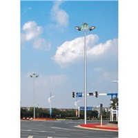 high mast light with auto lifting system