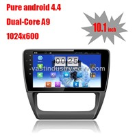 "10.1"" Android 4.4 car navigation for VW sagitar with 1024 * 600 resolution and DVR camera input"