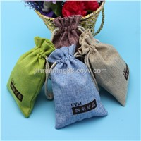 Natural Drawstring Jute Bags Wholesale