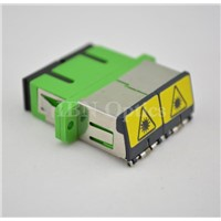 SC/APC Singlemode Duplex Opticcal Fiber Adapter/Coupler