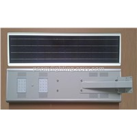 All in One Solar LED Street Light Infrared Induction 20w 25w 30w 40w