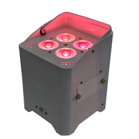 Hexacolor 6-In-1 LED Battery & Wireless Uplight Par Light, Disco Light, Truss Warmer, Stage Light