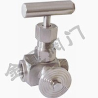 Miltiport needle valve
